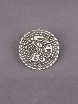 Saxon Animal Disc Brooch