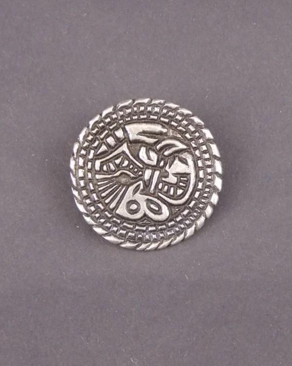 Saxon Animal Disc Brooch