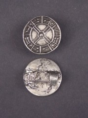 Saxon Coin Brooch
