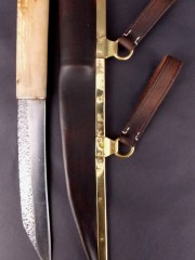 Simple Seax and sheath