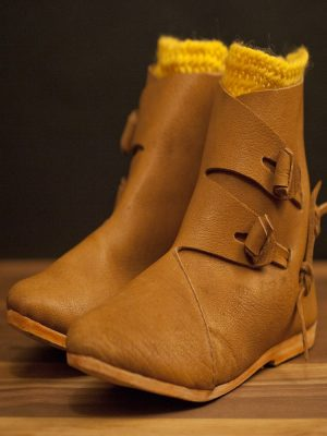 Two toggle boots