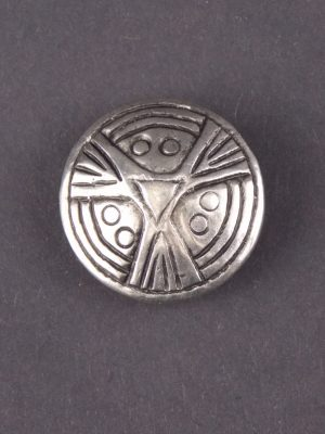 Viking Face Brooch