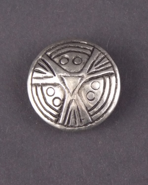 Viking Face Brooch