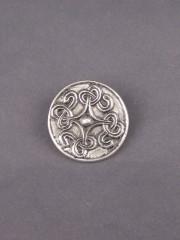 Viking Saxon disc brooch