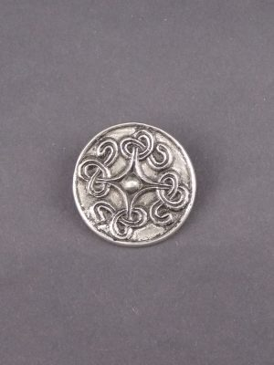 Viking Saxon disc brooch