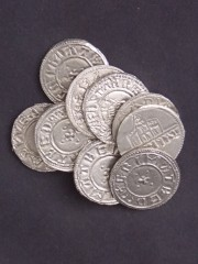 A selection of Viking Saxon coins made using English Pewter3