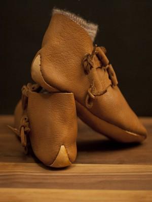 Jorvik Turn shoes, Saxon and Viking